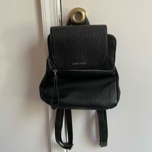 Calvin Klein backpack purse used maybe 10 times.